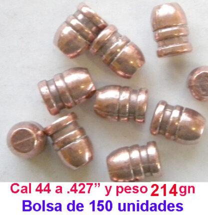OFERTA DE PUNTAS 44-40 Cobrizadas