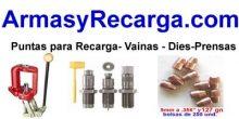 ArmasyRecarga.com – material de recarga para munición metalica